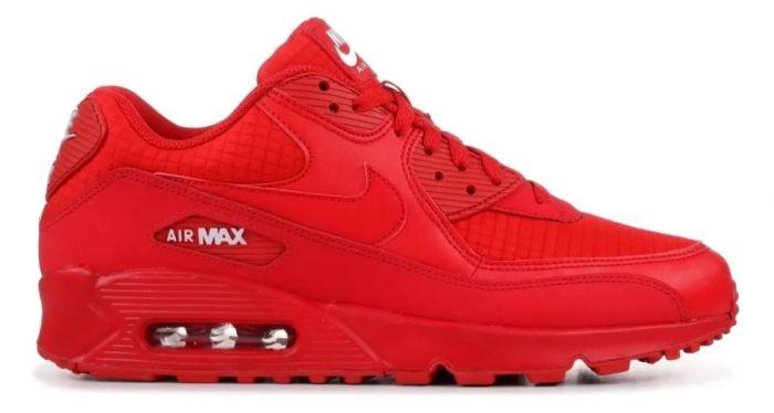 Zapatillas De Hombre Air Max 90 Essential Nike - Rojo