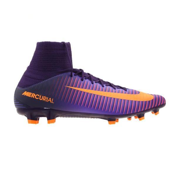 Zapatos Fútbol Hombre Nike Mercurial Veloce III Df -Morado 3cf8ee38f0691