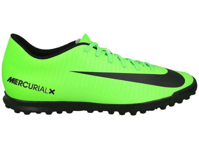 ca70eb447a926 Zapatos Fútbol Hombre Nike MercurialX Vortex III TF -Verde