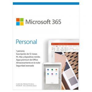 Microsoft 365 Personal Suscripción licencia 1 año- 1 Usuario | Producto en Tarjeta (ESD)