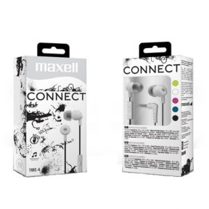 "Auriculares Maxell Stereo Buds 345 "" Blanco"