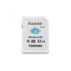 Tarjeta Sd Inalámbrica Flashair De 32 Gb Toshiba - Blanca