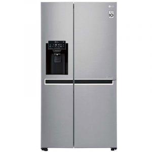 Refrigerador LG | 22 pies cúbicos | Side by Side | Moist Balance Crisper™ | Compresor Lineal Inverter | Platino Plata