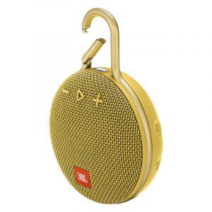 Bocina Portátil JBL Clip 3 Bluetooth Amarillo
