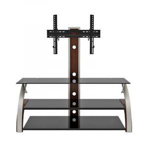 Mueble Para Tv Z-Line Báltico | Capacidad Max De Los Vidrio Hasta 150 Lb - Negro