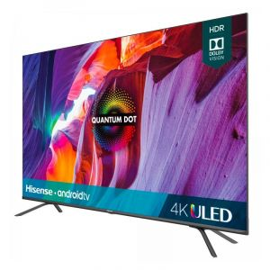 Hisense 55 Smart Tv 4K Uled Android Bluetooth Negro