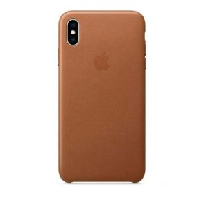 Funda Silicone Apple Para Iphone Xs Marrón