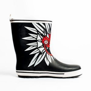 Botas para lluvia Undercover Dirty Devil Men Negro