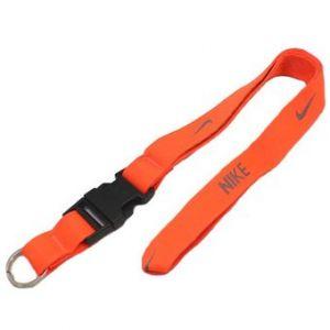 Porta Llave Nike Lanyard Naranja
