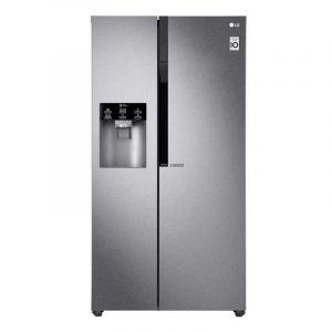 Refrigerador LG | 22 pies cúbicos | Side by Side | Moist Balance Crisper™ | Compresor Lineal Inverter | Grafito Oscuro
