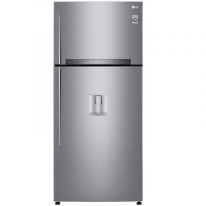 Refrigerador LG | 18 pies cúbicos | Top Freezer | Hygiene Fresh⁺ | Compresor Lineal Inverter | Platino Plata | Smart ThinQ™
