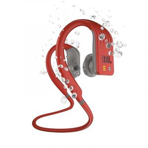 Auriculares Deportivos JBL Endurance Dive Bluetooth, Reproductor De Mp3, Sumergible - Rojo