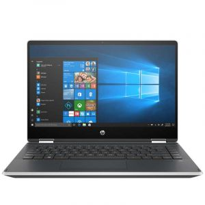 "Laptop HP Pavilion x360 Convertible 14-dh0011la (6QX05LA) 8ª gen i3-8145U 4GB 256GB 14"" HD Windows 10 - Plateado"