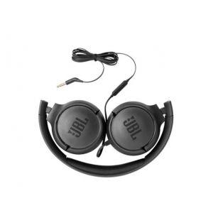 Audífono cableado con micrófono In-Ear JBL Tune 500 - Negro