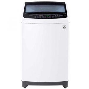 Lavadora LG 17Kg Carga Superior con Direct Drive Inverter con Vapor & THINQ (Wi-Fi), Color Blanco