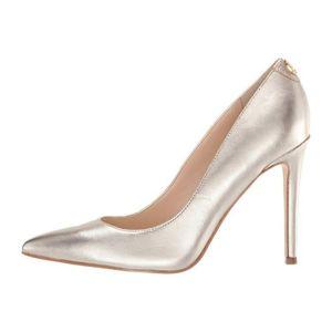 Zapatos Tacón Mujer Crew Guess-Dorado
