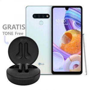 Lg K71 Mil-Std 810G   3 Cámaras Traseras 1 Frontal   Android 10   128Gb Expandible Hasta 512Gb  Ã'Batería De 4000Mah  Ã'Color Blanco