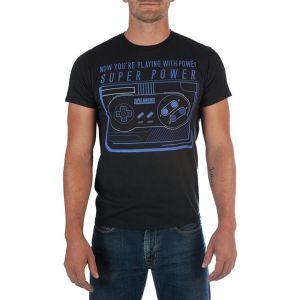 Camisa de Hombre Super Nintendo - Negro