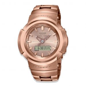 Reloj Análogo-Digital Casio G-shock AWM-500GD-4A Unisex Rosa