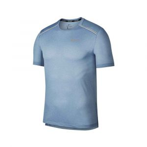 Camiseta tranning nike Hombre MILER Azul