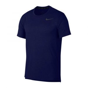 Camiseta tranning nike Hombre Breathe Azul