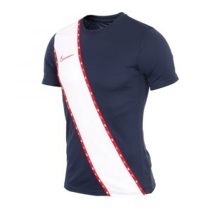 Camiseta Fútbol nike Hombre Academy Azul