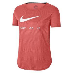 Camiseta Mujer Top Ss Swsh Nike Rosa