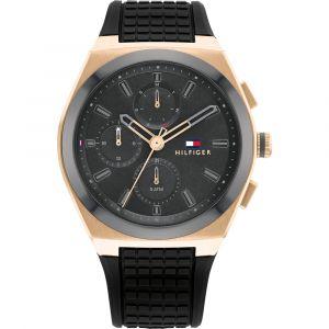 Reloj Cronógrafo Tommy Hilfiger 1791931 Hombre Negro