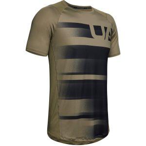 Camisa Manga Corta de Hombre Sublimated Under Armour - Verde