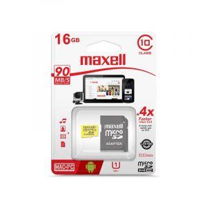 Memoria Micro Sd Maxell Cl 10 con Adaptador