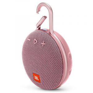 Bocina Portátil JBL Clip 3 Bluetooth Rosado