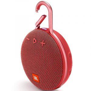 Bocina Portátil JBL Clip 3 Bluetooth Rojo