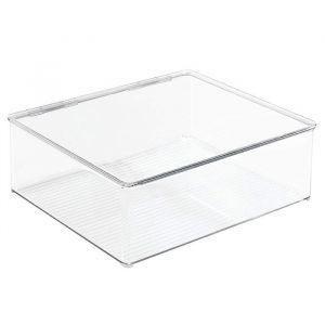 Caja Organizadora de Zapatos de Plástico Transparente