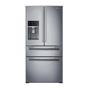 Refrigeradora 4 puertas Samsung RF25HMEDBSR Tipo Europeo con Twin Cooling Plus, 24,7 cu.ft
