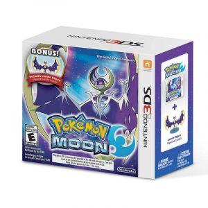 Juego Pokémon Moon + Figura Lunala 3DS