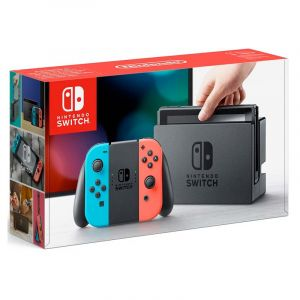 Consola Nintendo Switch Neon Red Blue