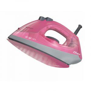 Plancha de vapor rosado Oster con recubrimiento de cerámica en color rosado