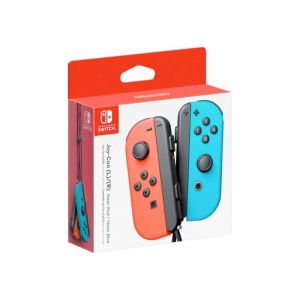 Nintendo Switch Joy Con (L R) Neon Red Blue