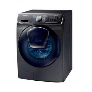 """Lavadora Samsung Carga Frontal con MultiSteamâ""""¢, 22 kg  Negro"""