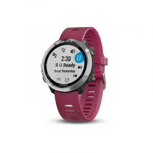 Garmin SMARTWATCH FORERUNNER® 645 MUSIC CERISE WITH STAINLESS HARDWARE