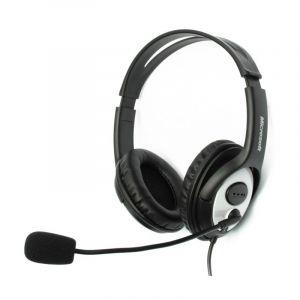 Audífono con Micrófono Microsoft Lifechat LX 3000 Negro