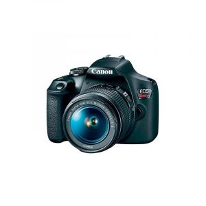 Cámara Réflex Canon EOS Rebel T7 EFS 24.1MP con Lente 18 55mm Video Creator Kit Negro