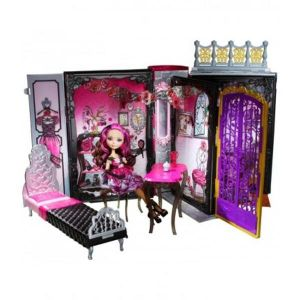Juego de Muñecas y Muebles Mattel Ever After High Thronecoming Briar Beauty