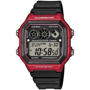 Reloj Deportivo Casio AE 1300WH 4A Negro