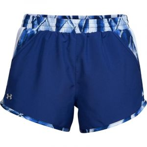 Pantalón Corto Mujer Under Armour W Fly By Printed Short Azul