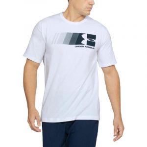Camisa Manga Corta Hombre Under Armour Fast Left Chest Blanco