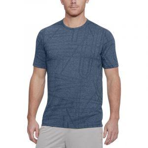 Camisa Manga Corta Hombre Under Armour Tb Elite Ss Azul