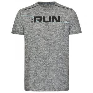 Camisa Manga Corta Hombre Under Armour Run Front Graphic Verde