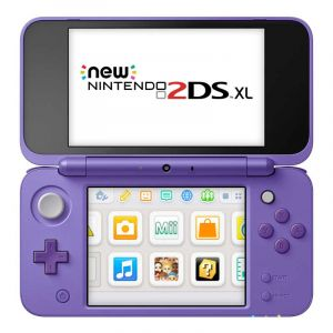Bundle Nintendo 2Ds Xl Mario Kart 7   Morado Plateado
