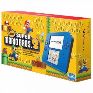 Bundle Nintendo 2Ds New Super Mario Bros. 2   Azul